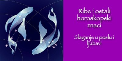 Ribe i ostali horoskopski znaci – slaganje